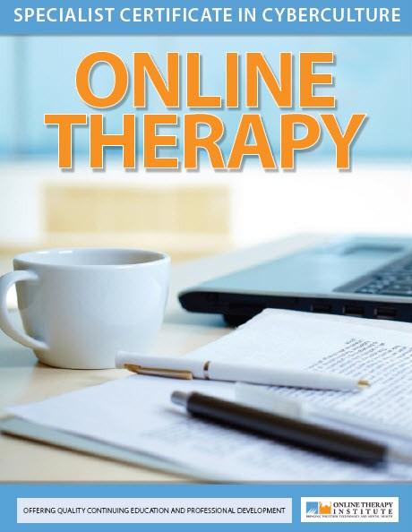 Specialist Certificate in Cyberculture: Online Therapy - Online ...